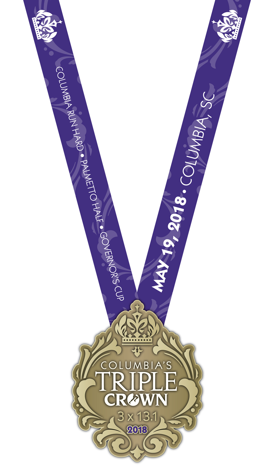 Triple Crown Medal